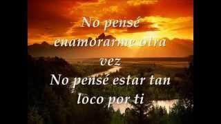 Gilberto Santa Rosa No pense enamorarme otra vez CON LETRA
