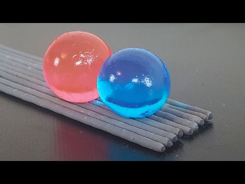 EXPERIMENT SPARKLERS vs ORBEEZ BALLS