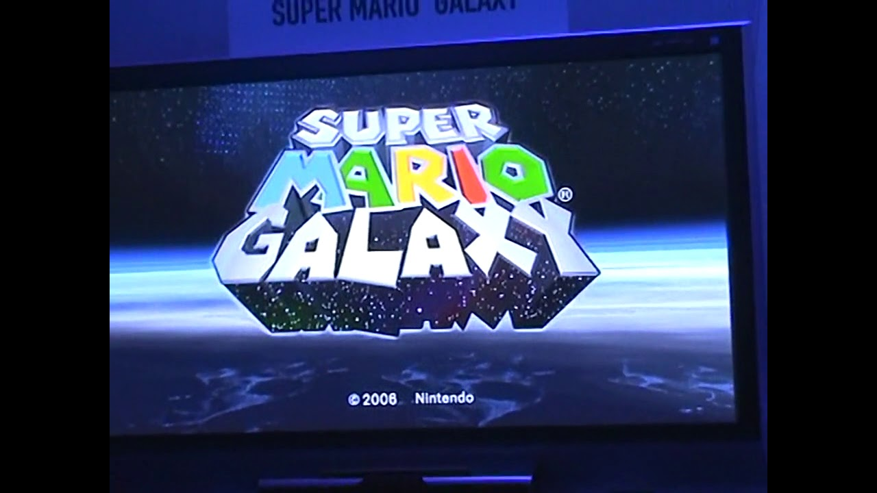 E3 2006 Footage of Early Super Mario Galaxy Gameplay Surfaces Online