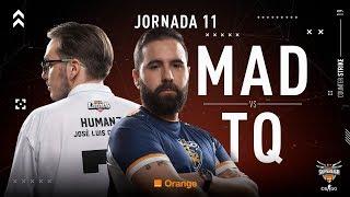 MAD Lions E.C. VS Team Queso | Jornada 11 | Temporada 2018/2019