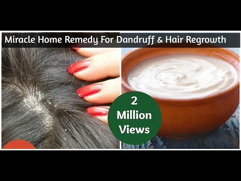 Video Miracle Home Remedy For Dandruff & Hair Regrowth | Sushmita's Diaries