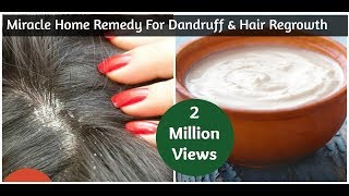 Miracle Home Remedy For Dandruff & Hair Regrowth | Sushmita's Diaries