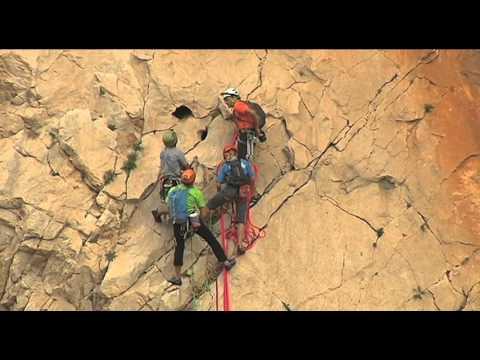 2. Kletterralley um 12 Uhr in El Chorro (Álora). Finaler Wettkampf der Spanischen Meisterschaften