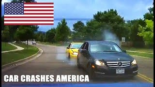 CAR CRASHES IN AMERICA - BAD DRIVERS USA #2 | NORTH AMERICAN DRIVING FAILS