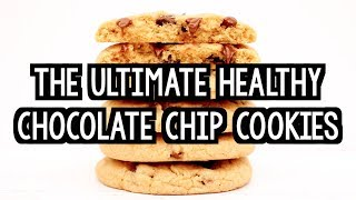 The Ultimate Healthy Soft & Chewy Chocolate Chip Cookies   Amys Healthy Baking