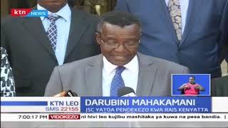 JSC yatoa pendekezo kwa Rais Kenyatta ili Jaji Jackton Ojwang' achunguzwe