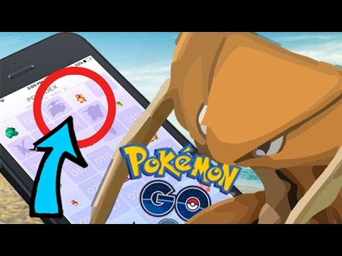 Pokemon GO : 精靈寶可夢GO ➲ 圖鑑出現沒遇過的Pokemon? / 遠古化石養成計畫