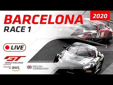 2020年 ブランパンGTシリーズ(バルセロナ)レース1ライブ配信動画