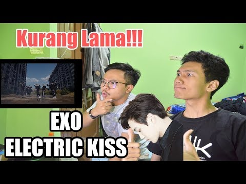 EXO 'Electric Kiss' MV REACTION ( ADAKAH LAY DISINI? )