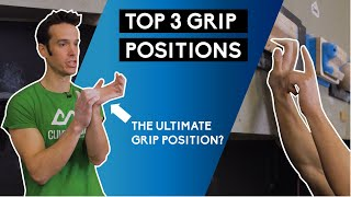 Top 3 Grip Positions for Fingerboard Training