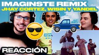 [Reacción] Jhay Cortez, Wisin & Yandel   Imaginaste (Remix)   ANYMAL LIVE 🔴