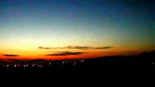 preview picture of video 'PKP train ride with evening sky near Bialystok II - 2012-01'
