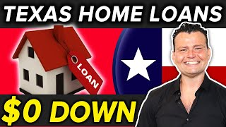 Zero Down Mortgage for Texan Home Buyers