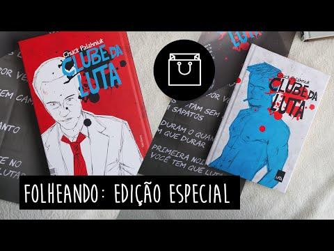 FOLHEANDO: Clube da Luta Edi��o Especial (Leya) | Pausa Para Um Caf�
