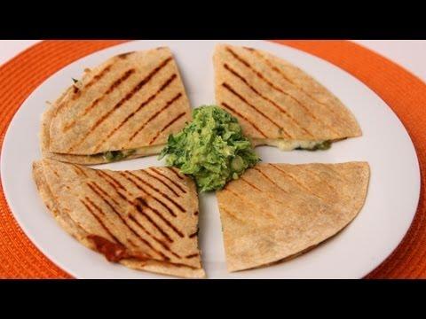 Grilled Corn and Poblano Quesadilla Recipe – Laura Vitale – Laura in the Kitchen Episode 420
