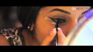 Image for video on How to get the Winged Eyeliner look by Be Beautiful