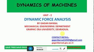 slider crank dynamic analysis - मुफ्त ऑनलाइन