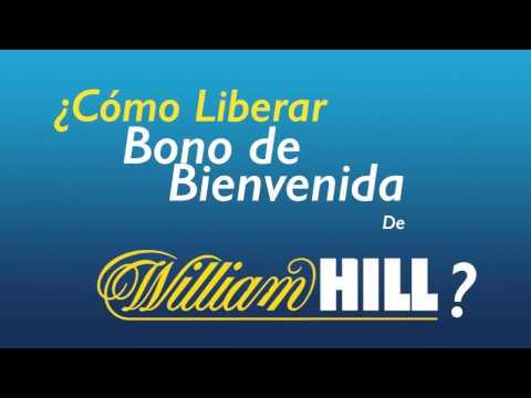 Liberar el bono de Bienvenida en William Hill