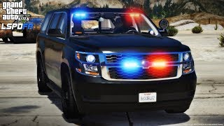 GTA 5 Mods LSPDFR #78 - Undercover Patrol in a Tahoe (GTA 5 Police Mod)