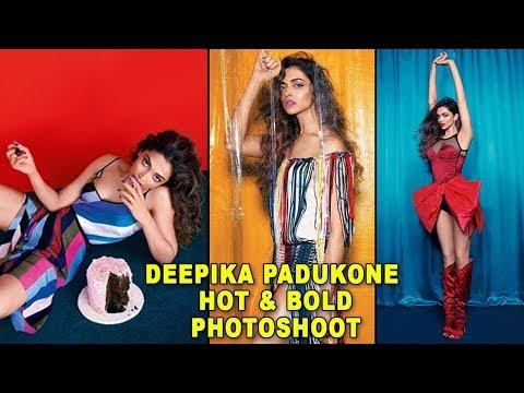 Deepika Padukone Hot Photoshoot For Vogue 2018 - смотреть
