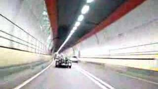 preview picture of video 'Dartford tunnel in a Caterham BDR (Cosworth)'