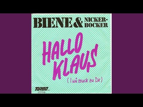 HALLO KLAUS (I wü zruck zu Dir) ZRUCK ZU DIR (Hallo Klaus) (Orginal '83) (weibliche Version)