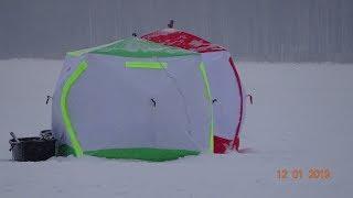 Палатка куб для зимней рыбалки 4 местная