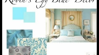 How To Decorate A Bedroom With Robins Egg Blue : Bedroom Accents & Redesign
