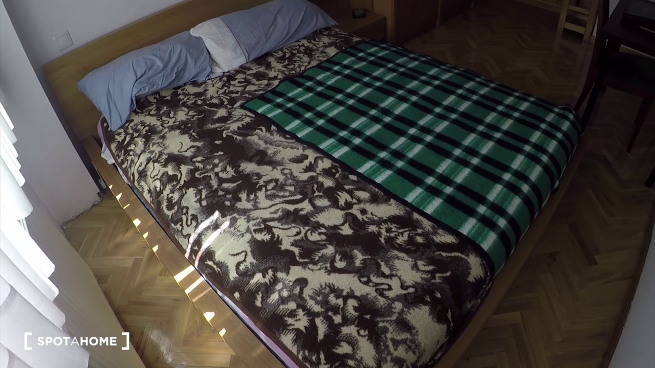 Single Bed in Rooms for rent in 3-bedroom apartment, ideal for students, in San Sebastián de los Reyes