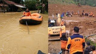 Banjir dan Longsor Landa Beberapa Wilayah, Puluhan Ribu Rumah Terendam Banjir