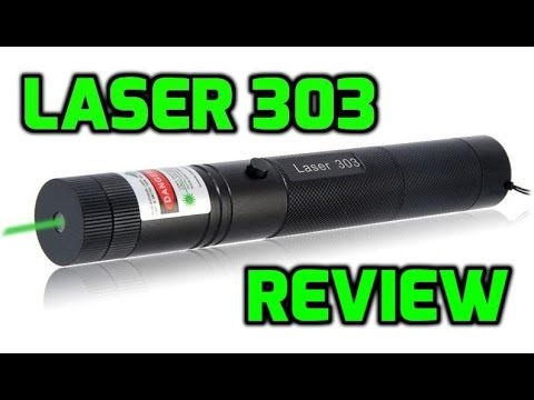 Laser 303 Green 532nm Burning Laser Pointer Review