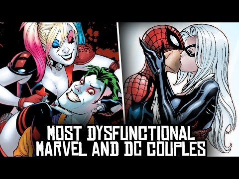 10 Most DYSFUNCTIONAL Marvel & DC Couples!