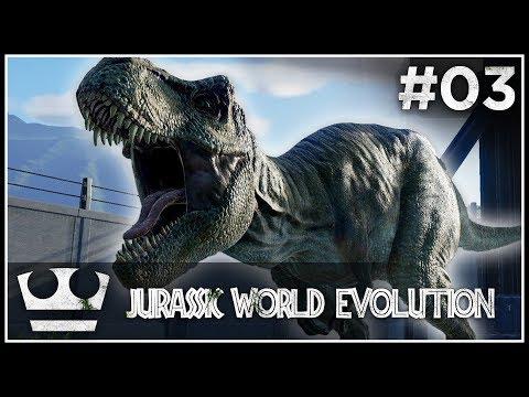 Přesouváme se na nebezpečný ostrov! JURASSIC WORLD EVOLUTION #03 [ 4K ]