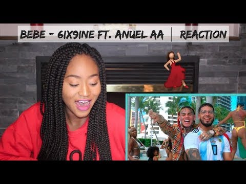 BEBE - 6ix9ine Ft. Anuel AA (Prod. By Ronny J) (Official Music Video) | REACTION