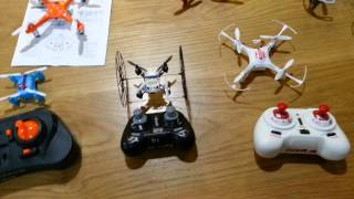 Nano & Micro Indoor Quadcopter Quick Roundup Review mid 2015