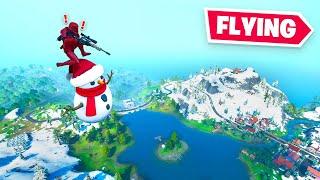 the Christmas update is BROKEN in Fortnite