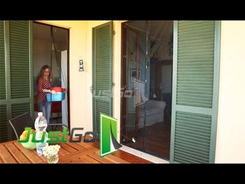 Montaggio con fermagli adesivi Tenda Zanzariera magnetica antizanzare per porte e finestre