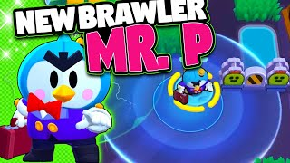 NEW BRAWLER MR. P | New Game Mode HOT ZONE, Skins and more | Brawl Stars Update