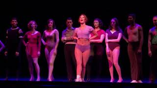 "Melissa Cabey ""Dance: Ten; Looks: Three"" 2018 National Tour A Chorus Line"