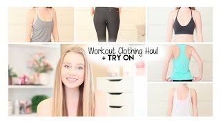 Workout Clothing Haul + Try On | Nike, Lululemon, Forever21, + MORE