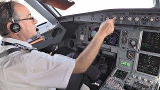 Cobalt Air Airbus A319 | Cockpit Flight Zurich-Larnaca | Cockpit View from Takeoff to Landing!