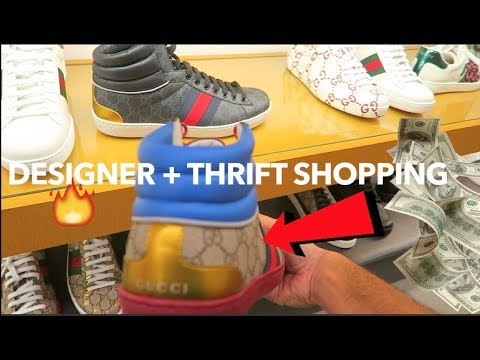 NEW DESIGNER ITEMS at NEIMAN MARCUS!!! Designer Shopping + Thrifting Vlog!!!