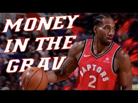"""KAWHI LEONARD MIX """"MONEY IN THE GRAVE"""" BY DRAKE FEAT.RICK ROSS ᴴᴰ"""