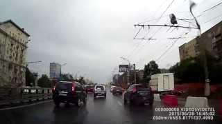 Мелкое ДТП на Ленинградском шоссе, 28 июня 2015