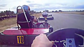 preview picture of video 'Pole y Carrera 12 vueltas Karting B. Fuensalida Toledo Karts 270cc 4t (Alberto Mascuñano on-board)'