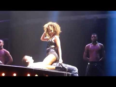 Rihanna Gives Male Fan A Lap Dance On Stage