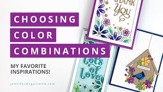 Choosing Color Combinations (+ Many Cards!)