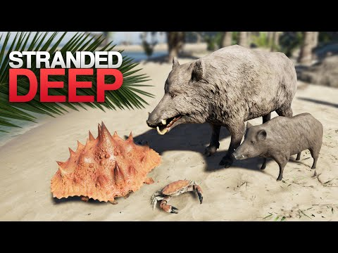NEW GIANT CRAB, HOG & PARTICLES! Stranded Deep 0.64 Update Overview