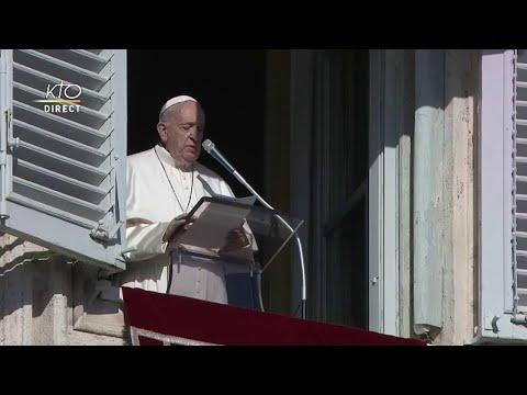 Angélus et message pour la Paix