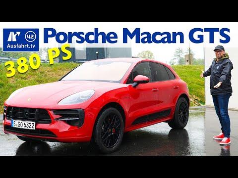 2020 Porsche Macan GTS (95B FL) - Kaufberatung, Test deutsch, Review, Fahrbericht Ausfahrt.tv